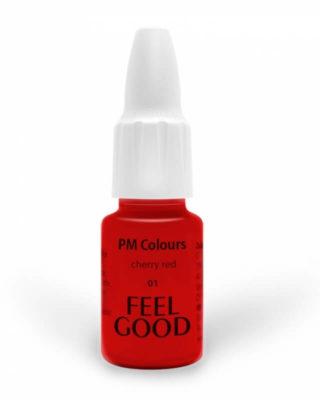 Пигмент Feelgood 01 Вишнёво-красный (01 cherry red)