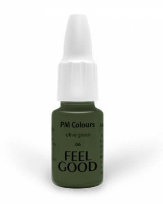 Пигмент Feelgood для век 06 Оливковый (06 olive green)