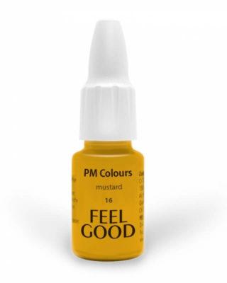 Пигмент Feelgood 16 Горчица (16 mustard red stopper)