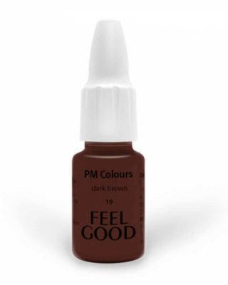 Пигмент Feelgood для бровей 19 Тёмно-коричневый (19 dark brown)