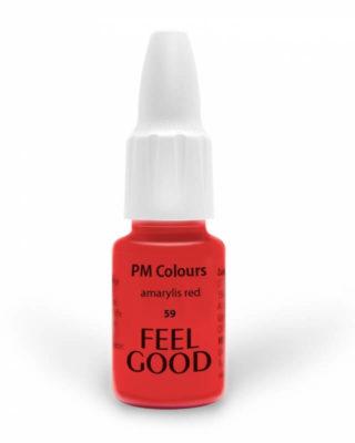 Пигмент Feelgood 59 Красный амариллис - натуральный цвет (59 amarylis red)